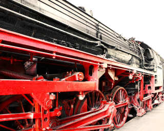 Fototapete «SteamLocomotiv» DD109100