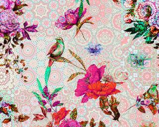Photo wallpaper «mosaic garden2» DD110196