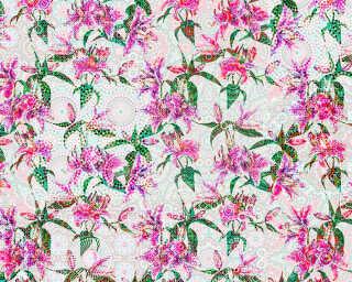 Photo wallpaper «mosaic lilies2» DD110216
