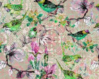 Photo wallpaper «mosaic birds 2» DD110251