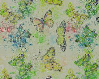 Photo wallpaper «mosaicButterf3» DD110271
