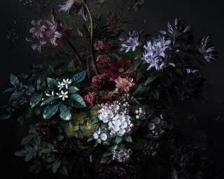 Photo wallpaper «bouquet noir 2» DD110636