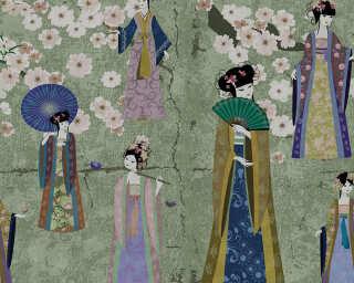 Kathrin und Mark Patel Fototapete «kimono 1» DD110811