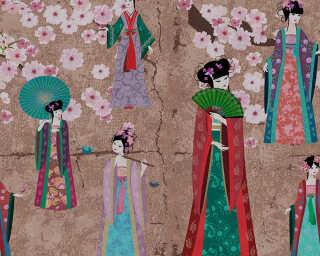 Kathrin und Mark Patel Fototapete «kimono 2» DD110816
