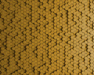 Kathrin und Mark Patel Photo wallpaper «honeycomb 1» DD113322