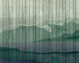 Kathrin und Mark Patel impression numérique «mountains 3» DD113722