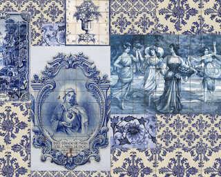 Kathrin und Mark Patel Fototapete «azulejos 1» DD114017