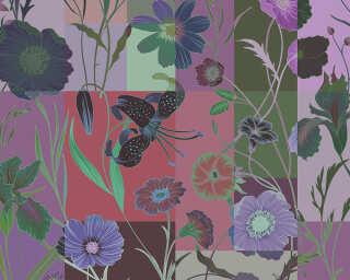 Kathrin und Mark Patel Fototapete «floral patch 1» DD114227