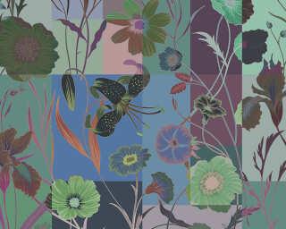 Kathrin und Mark Patel Fototapete «floral patch 2» DD114232