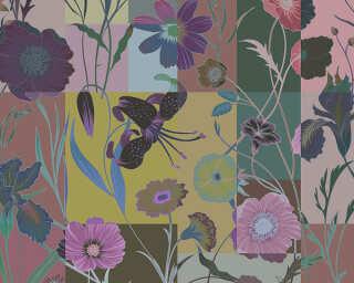 Kathrin und Mark Patel Fototapete «floral patch 3» DD114237