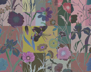 Fototapete «floral patch 3» DD114237