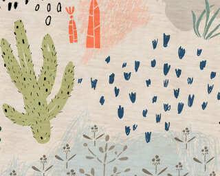 Kathrin und Mark Patel Fototapete «crayon garden2» DD114302