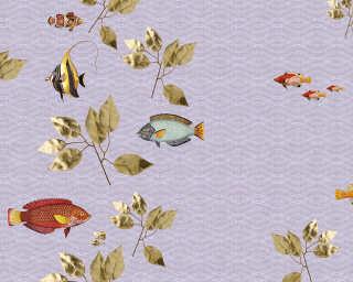 Kathrin und Mark Patel impression numérique «brillant fish2» DD114344