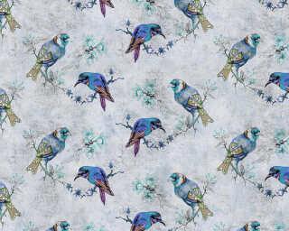 Kathrin und Mark Patel impression numérique «love birds 1» DD114402