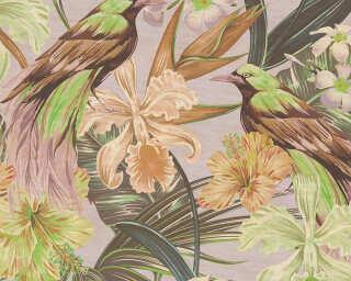 Photo wallpaper «exotic birds 2» DD114417