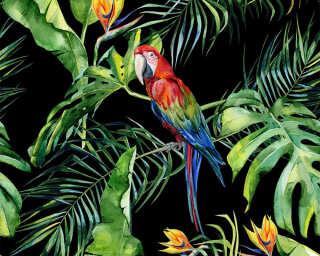 A.S. Création impression numérique «Parrot 2» DD116615