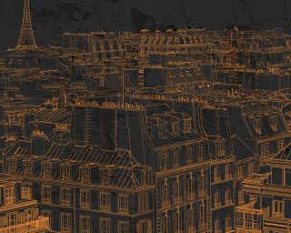Architects Paper impression numérique «ViewsOfParis3» DD117360