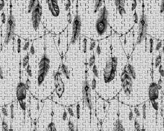 Architects Paper Photo wallpaper «FeatherPuzzle1» DD117590