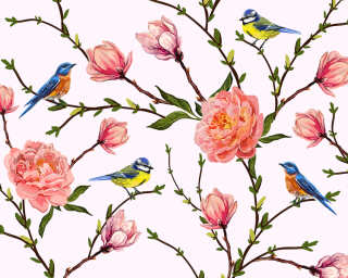 Livingwalls Photo wallpaper «LittleBirds» DD118538