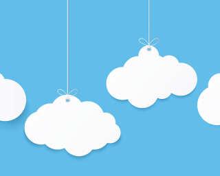 Livingwalls Fototapete «Clouds1» DD118640