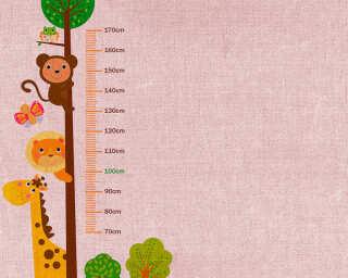 Livingwalls impression numérique «KidsGrowStick2» DD118648