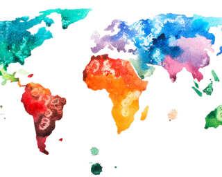 Livingwalls impression numérique «Colourf.World1» DD118696