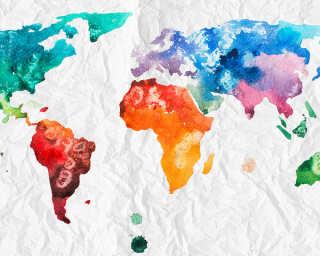 Livingwalls impression numérique «Colourf.World2» DD118698