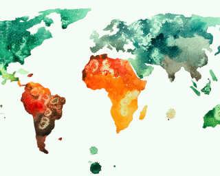 Livingwalls impression numérique «Colourf.World3» DD118700