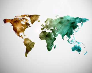 Livingwalls impression numérique «WorldGraphic1» DD118706