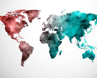 Livingwalls impression numérique «WorldGraphic2» DD118708