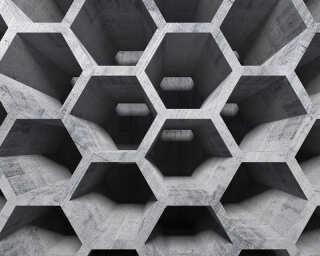 Livingwalls impression numérique «HoneyCombStr.1» DD118738