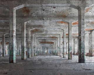 Livingwalls Photo wallpaper «ConcretePosts» DD118746