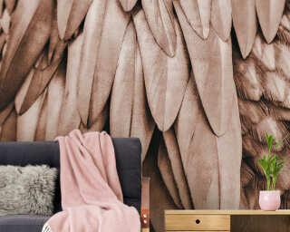 Livingwalls impression numérique «Feathers1» DD119841