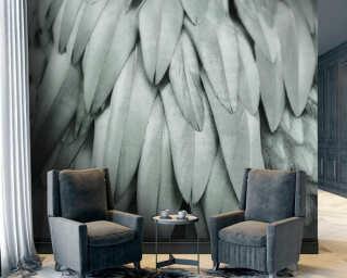 Livingwalls impression numérique «Feathers2» DD119845