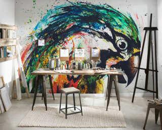 Livingwalls impression numérique «Parrot» DD120041