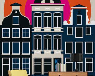 Livingwalls Fototapete «Amsterdam69» DD120093