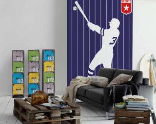 Livingwalls Fototapete «Baseball» DD120153