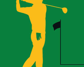 Livingwalls Fototapete «Golfplayer» DD120157