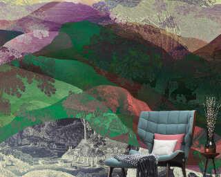 Kathrin und Mark Patel Fototapete «hidden valley1» DD121808