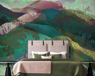 Kathrin und Mark Patel Fototapete «hidden valley2» DD121812