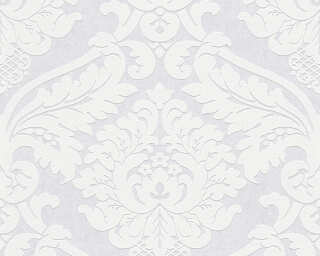 Livingwalls Tapete «Barock, Weiß, Überstreichbar» P468780025