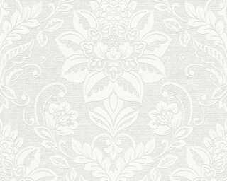 Livingwalls Tapete «Barock, Weiß, Überstreichbar» P468780027