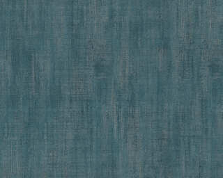 Livingwalls papier peint «Uni, bleu, métallique» P468840017