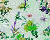 Kathrin und Mark Patel impression numérique «mosaic garden1» DD110191