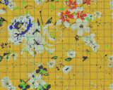 Kathrin und Mark Patel Fototapete «flower plaid 1» DD113822