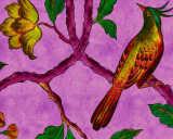 Kathrin und Mark Patel Fototapete «birdOfParadis2» DD113842