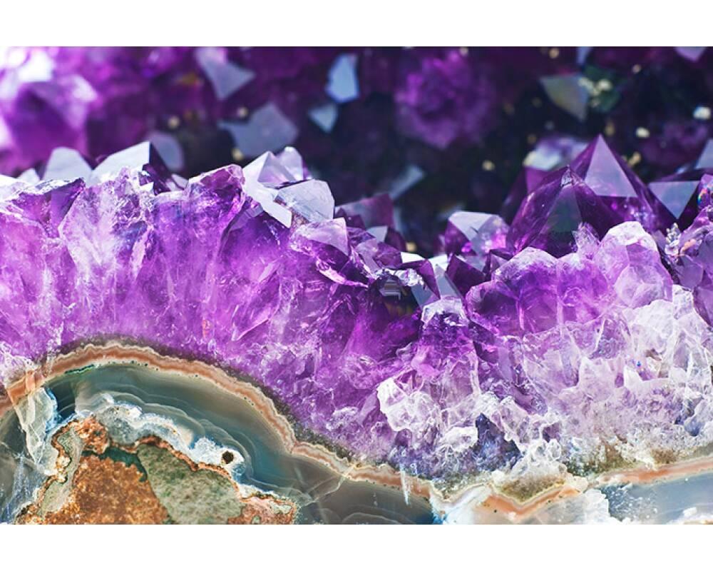 livingwalls photo wallpaper violet amethyst 036100