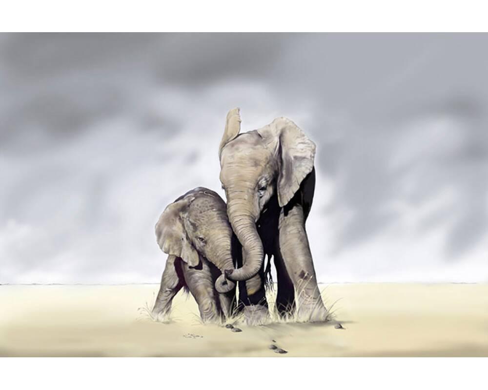 Для, картинки со слоником и жирафом