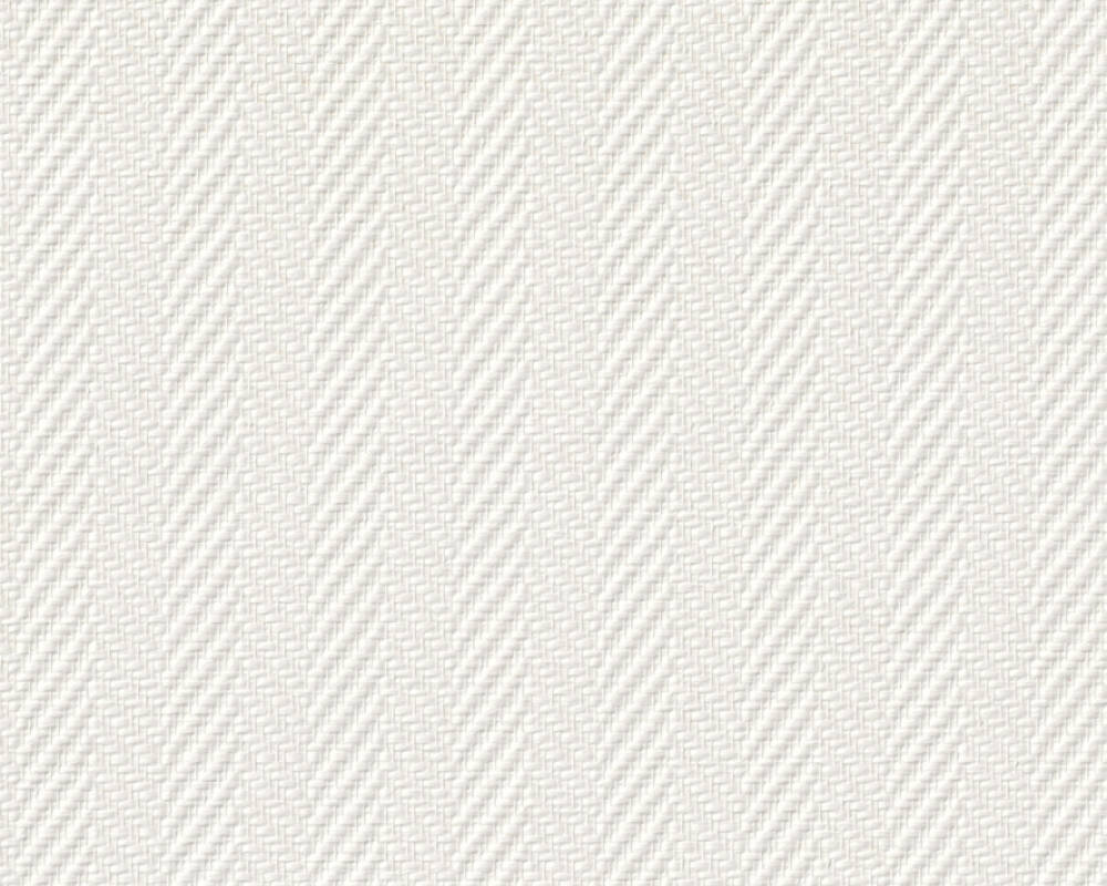 A.S. Création Wallpaper Stripes, Paintable, White 090341