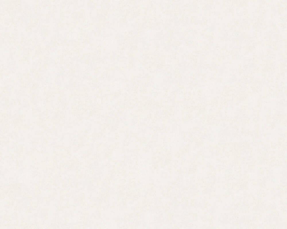 A.S. Création Wallpaper Uni, Paintable, White 090515